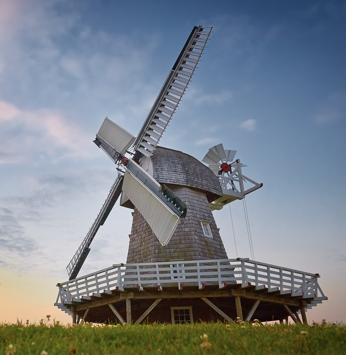 Wind-powered Windmill