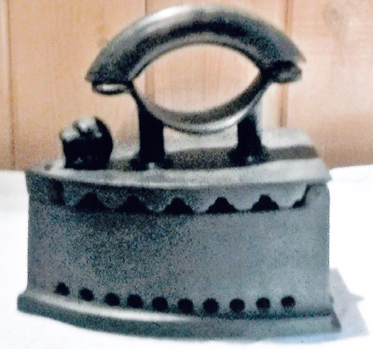 Vintage Coal Iron - 150 for 150 Exhibit
